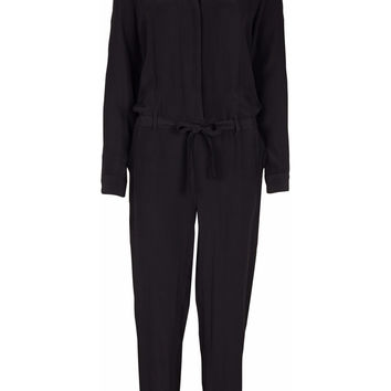 Sharon Black Slouchy Jumpsuit