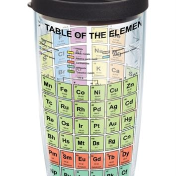 The Periodic Table of Elements - Wrap with Lid - 16oz | 16oz Tumbler | Tervis®