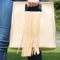 Square Purse with Fringe