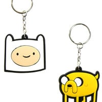 JAKE AND FINN KEYCHAIN SET