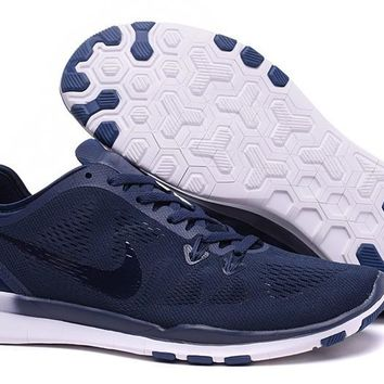 Nike Free TR FIT 5 Brthe Women's Training Shoes Clearwater Navy Blue