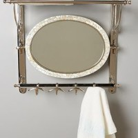 Candescent Train Rack by Anthropologie in Nickel Size: One Size Hardware