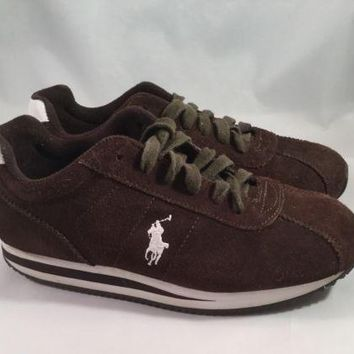 Polo Ralph Lauren - Leather Athletic Sneakers