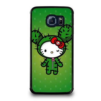 HELLO KITTY DOKITOKI DONUTELLA Samsung Galaxy S6 Edge Case Cover