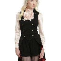 Disney Alice Through The Looking Glass Mad Hatter Military Vest Pre-Order