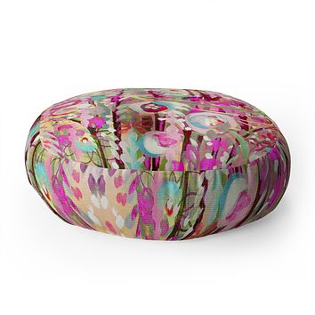 Stephanie Corfee Bloom Baby Floor Pillow Round
