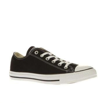 DCKL9 converse black all star lo trainers