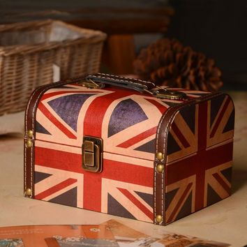 England Style Home Decoration Storage Creative Gifts Box [6283015942]