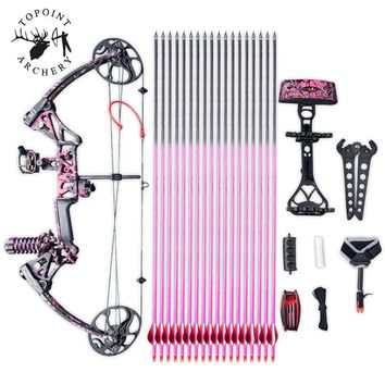 Special Gift for Women&girls Archery 19-70lbs M1-women Compound Bow Takedown Bow Limbs Made In USA Hunting Accessory
