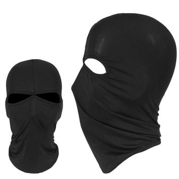 New Windproof 2 Hole Lycra Balaclava Hats Cap Tactical Airsoft Motorcycle Bicycle Military Army Protection Full Face Mask Winter