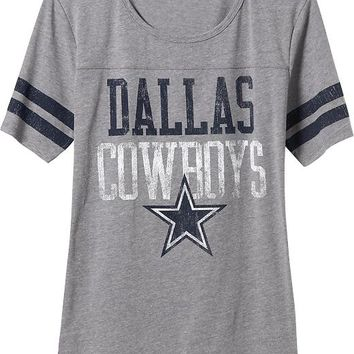 Old Navy Womens NFL Dallas Cowboy Tee