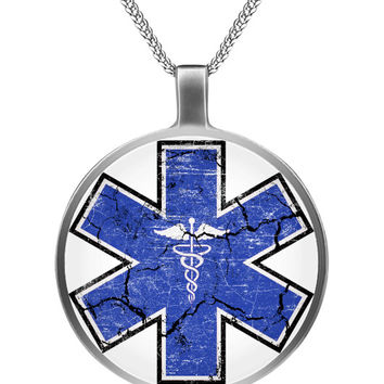 Star of Life Pendant Necklace