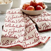 FA LA LA KITCHEN TOWEL, SET OF 2