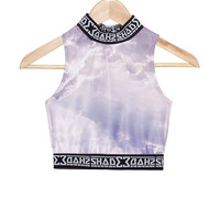 SHADE Polo Crop Top - Cloud - SHADE London | The official website and online store for SHADE London