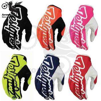 5 colors motorcycle Accessories colorful moto motorcycle Gloves motocross Racing Gloves Motorbike Dirt Bike Bicycle cycling part