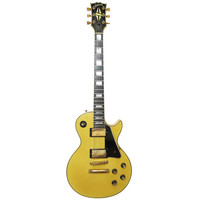 1970's Gibson Les Paul Custom Guitar in Cream Finish