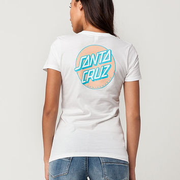 SANTA CRUZ Other Dot Womens Tee | Graphic Tees