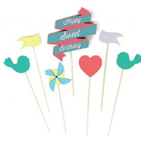 Sweet Cake Toppers   Birthday Cake Decorations