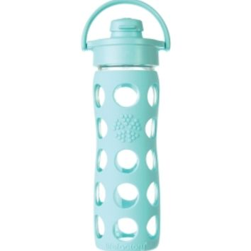 Lifefactory 16 ounce Glass Water Bottle with Flip Top | DICK'S Sporting Goods