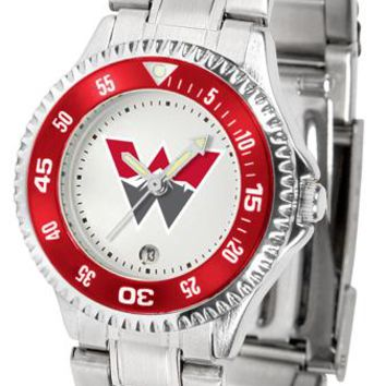 Western State Colorado University Mountaineers Competitor Ladies Steel Watch