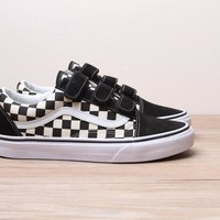 Vans Old Skool Checkerboard Magic Sticker Series Sneaker