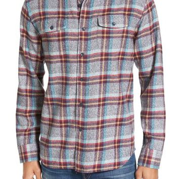 Grayers 'Lear' Trim Fit Plaid Flannel Sport Shirt | Nordstrom