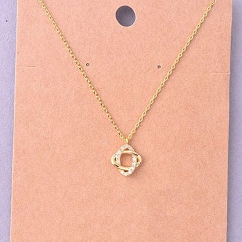 Infinity Knot Delicate Necklace