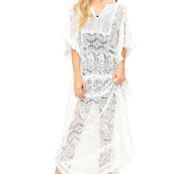 Indie Knit Tunic Coverup