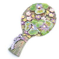 hand mirror, featured mirror, gift for loved one,