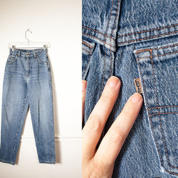 Vintage Acid Washed Levi's Jeans / High Waisted Jeans 90s Jeans 80s Jeans Grunge Preppy 80s Denim Skinny Jeans Boyfriend Jeans Relaxed Fit