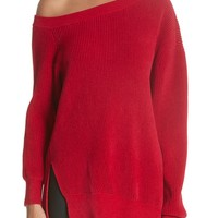 Yigal Azrouël One-Shoulder Sweater | Nordstrom