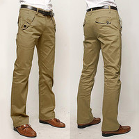 Relaxed Fit Chino Pants