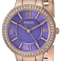 Fossil Women's ES3655 Colleague Three-Hand Stainless Steel Watch