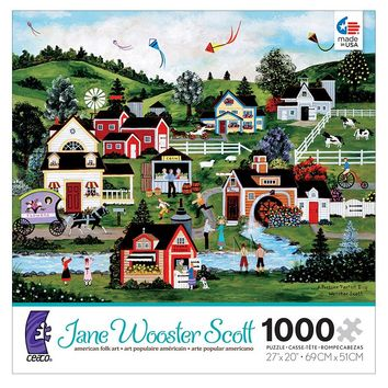 Jane Wooster Scott 1000-pc. A Picture Perfect Day Puzzle