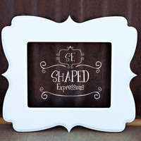 8x10 whimsical picture frame - Twitterpated - Pick your color