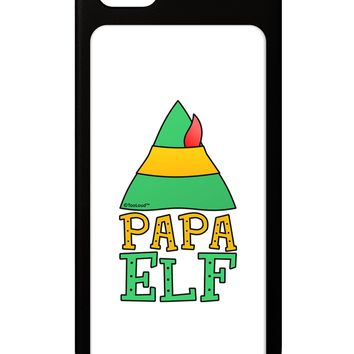 Matching Christmas Design - Elf Family - Papa Elf iPhone 5 / 5S Grip Case  by TooLoud