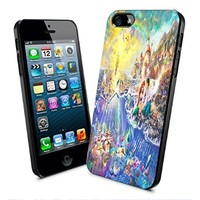 Disney Princess Little Mermaid in the Castle Iphone and Samsung Galaxy Case (iPhone 5/5s Black)