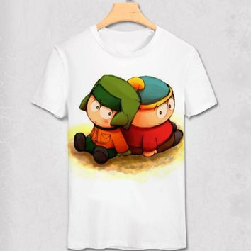 South Park - Kyle & Cartman - Funny Geek Designs - Variety Shirt
