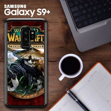 World Of Warcraft Guardian Druid Mists Of Pandaria Z0652 Samsung Galaxy S9 Plus Case