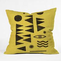Nick Nelson Tangential Outdoor Throw Pillow