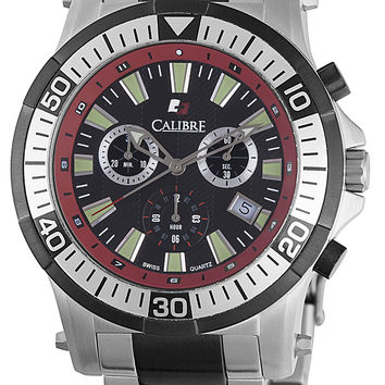 Calibre Hawk Chrono Mens Chronograph Quartz Watch SC-5H2-04-007.4