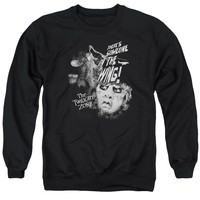 Twilight Zone - Someone On The Wing Adult Crewneck Sweatshirt Officially Licensed Apparel