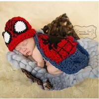 Newborn Photography Prop - Spiderman