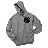 "Niall Horan ""NH Circle Logo"" in Corner Unisex Adult Hoodie Sweatshirt"