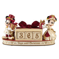 Victorian Minnie and Mickey Mouse Holiday Countdown Calendar