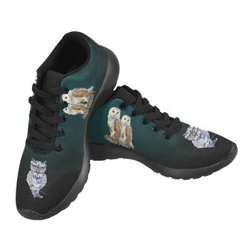 Owl Sneakers Men | Running Shoes |Pet Sneakers