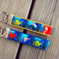 Disney Inspired Little Mermaid #2 Keychain/ Key Fob