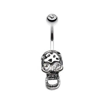 Radtastic Skull Belly Button Ring