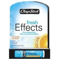 Chapstick Fresh Effects Lip Balm, Refreshing Mandarin