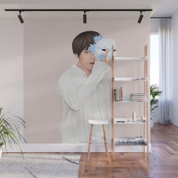 BTS Taehyung | Singularity Wall Mural by marylobs